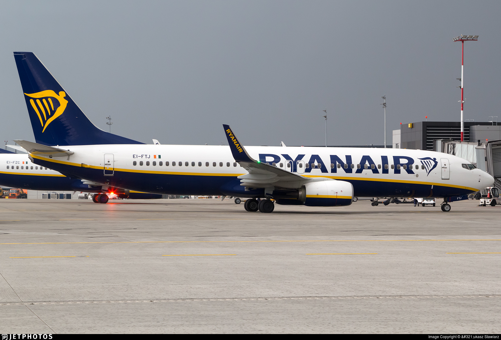 EI-FTJ - Boeing 737-8AS - Ryanair