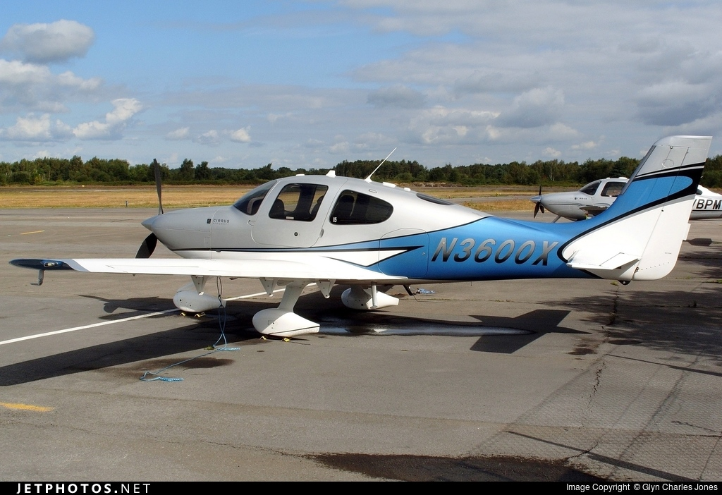 N3600X - Cirrus SR22T - Private
