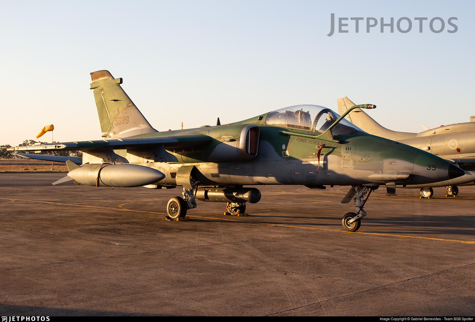 FAB5539 - Alenia/Aermacchi/Embraer A-1A - Brazil - Air Force
