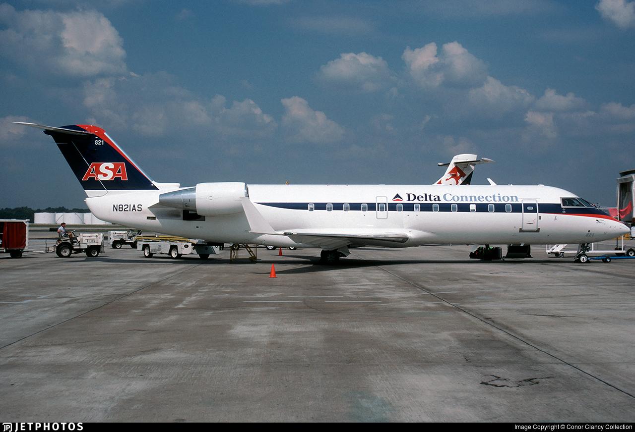 N821AS - Bombardier CRJ-200ER - Delta Connection (Atlantic Southeast Airlines)