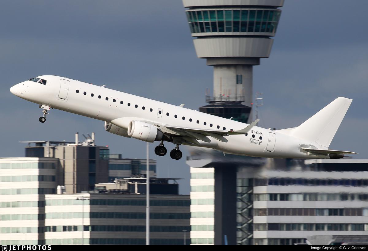 EI-GHK - Embraer 190-100IGW - Stobart Air