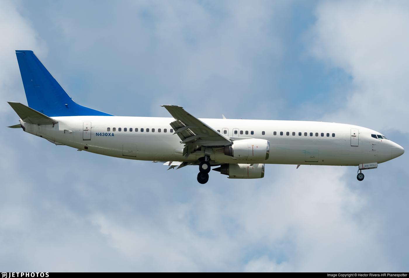 N430XA - Boeing 737-484 - iAero Airways