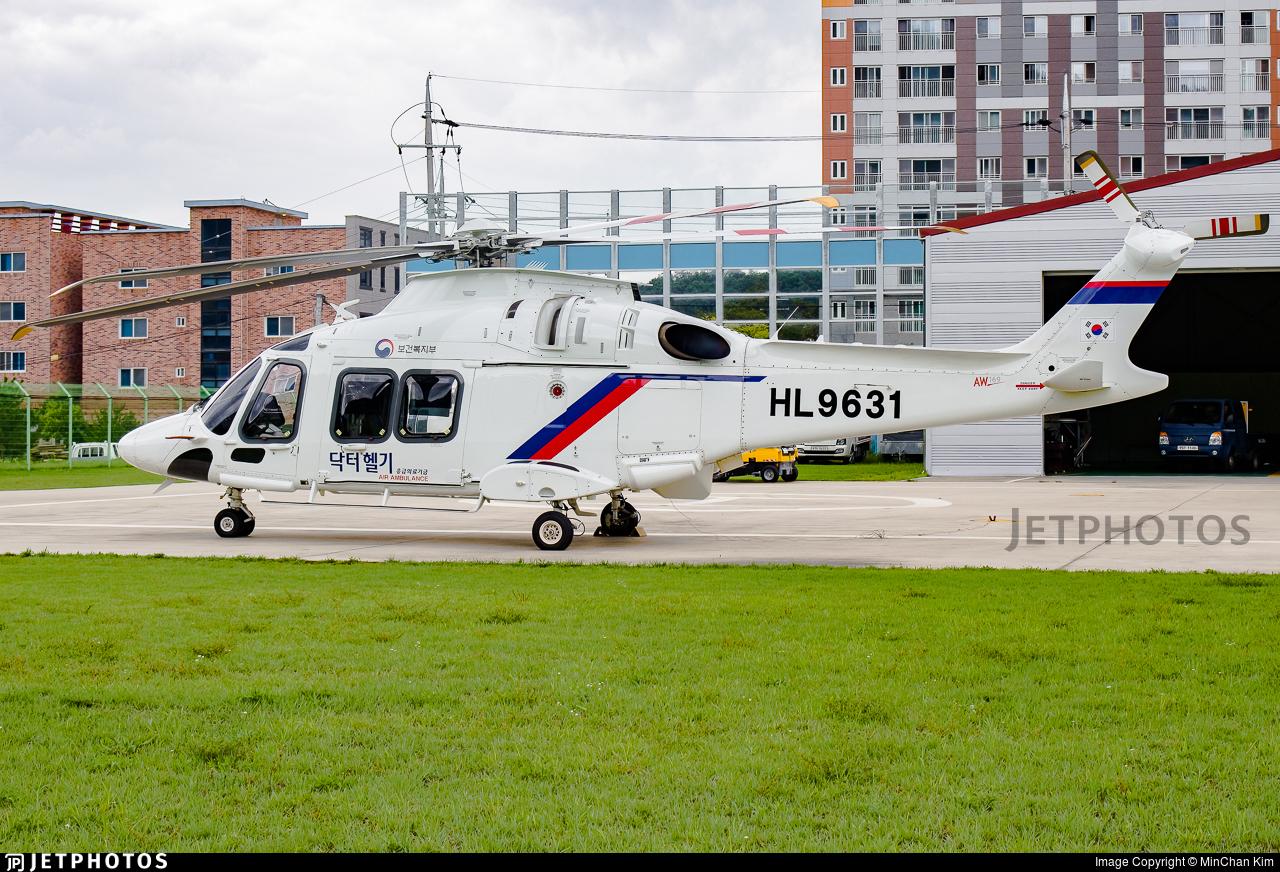 HL9631 - Agusta-Westland AW-169 - Helikorea