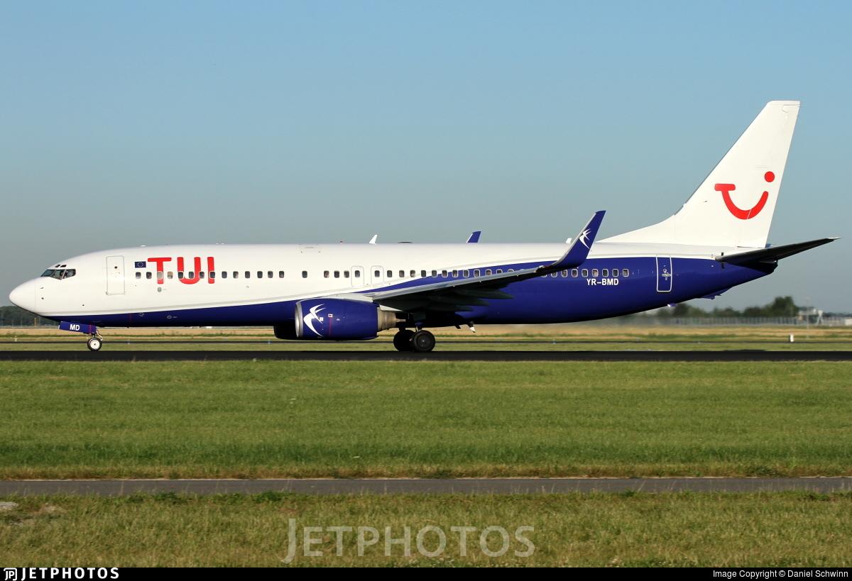 YR-BMD - Boeing 737-85F - TUI (Blue Air)