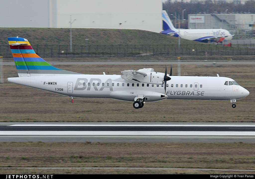 F-WWEN - ATR 72-212A(600) - Braathens Regional