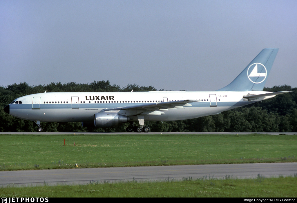LX-LGP - Airbus A300B4-203 - Luxair - Luxembourg Airlines