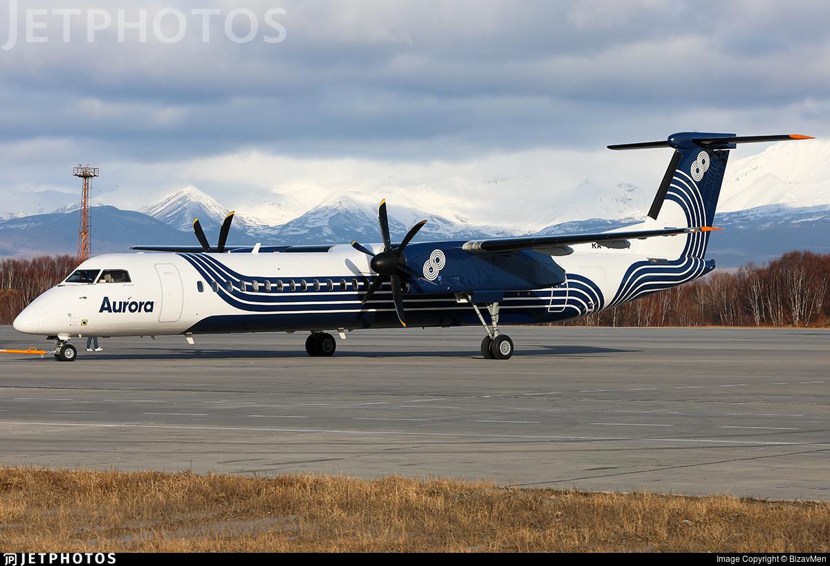 RA-67252 - Bombardier Dash 8-Q402 - Aurora