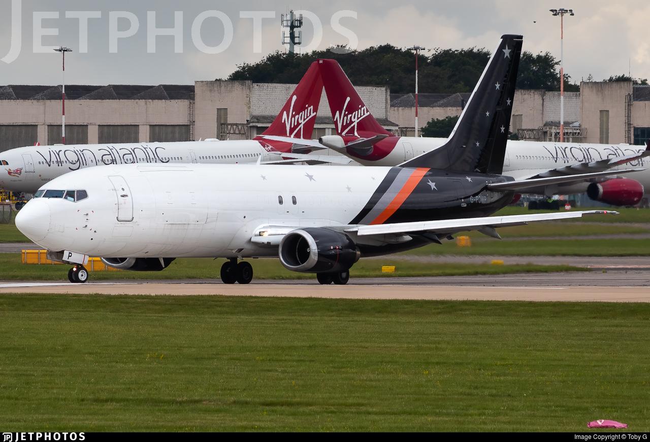 G-POWP - Boeing 737-436(SF) - Titan Airways