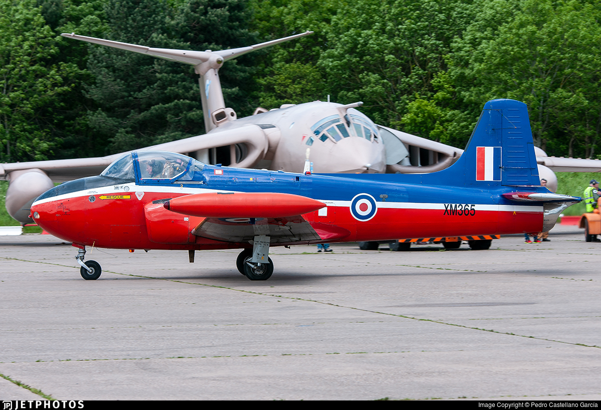 XM365 - Hunting Percival Jet Provost T.3A - United Kingdom - Royal Air Force (RAF)