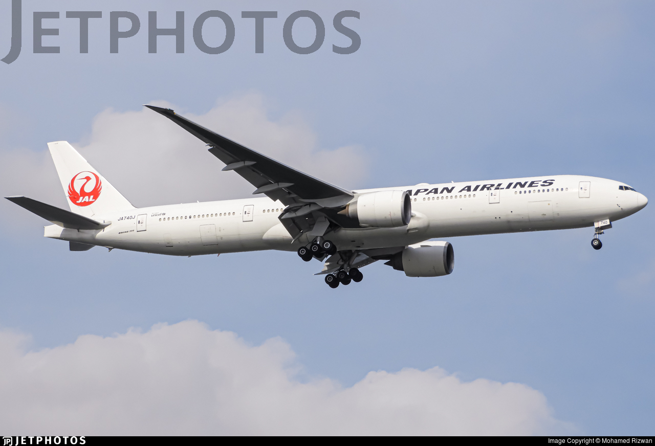 JA740J - Boeing 777-346ER - Japan Airlines (JAL)