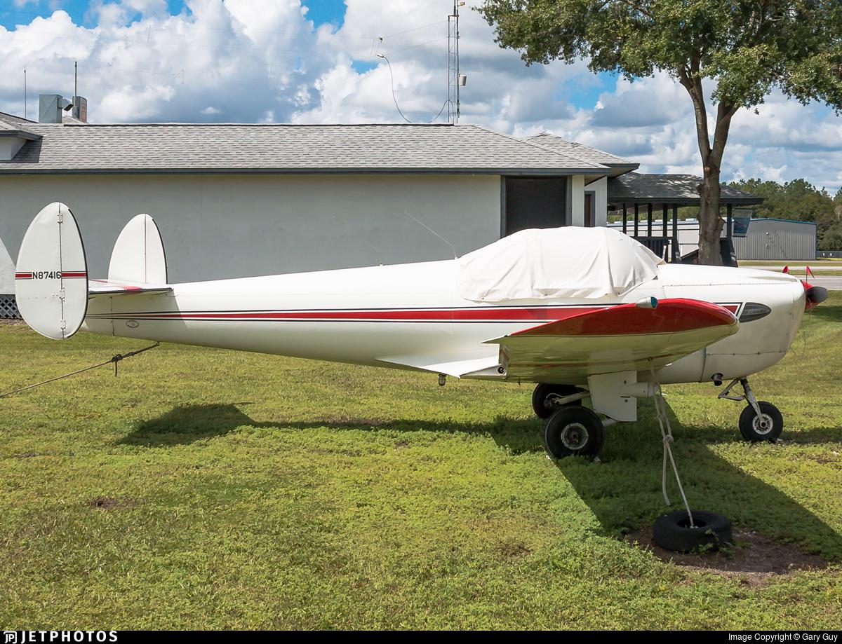 N87416 - Erco 415C Ercoupe - Private