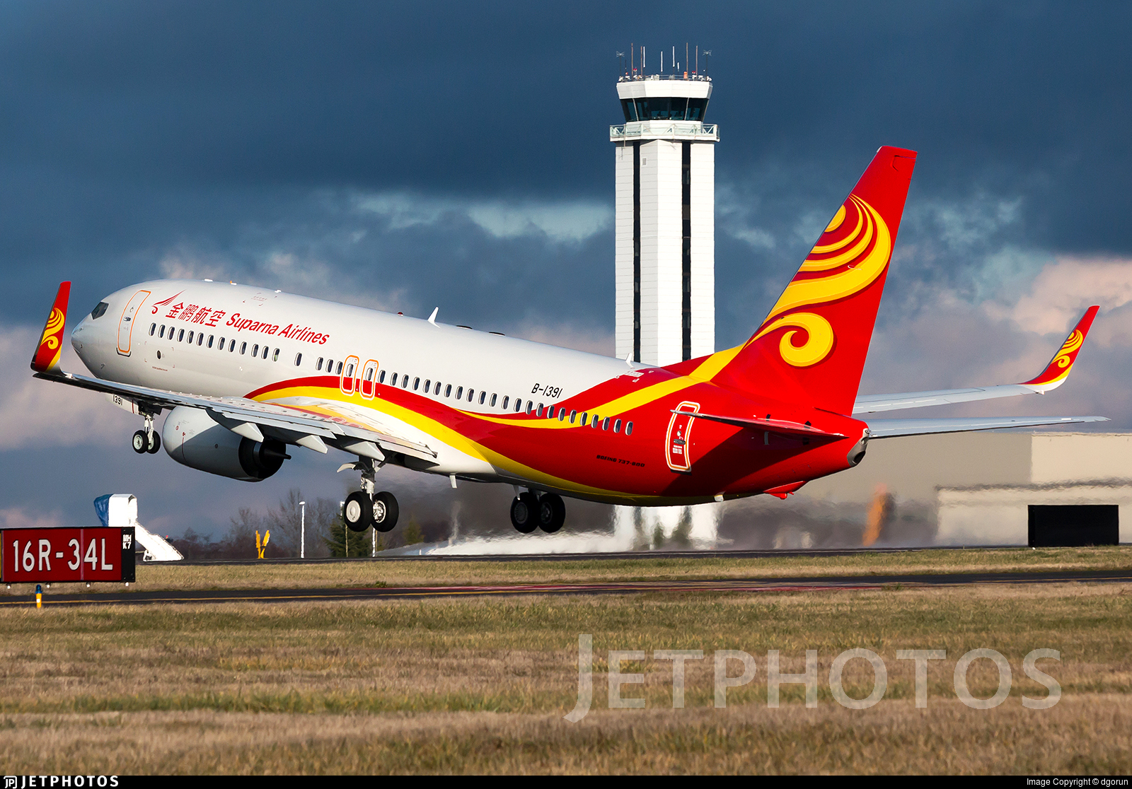 B-1391 - Boeing 737-84P - Suparna Airlines