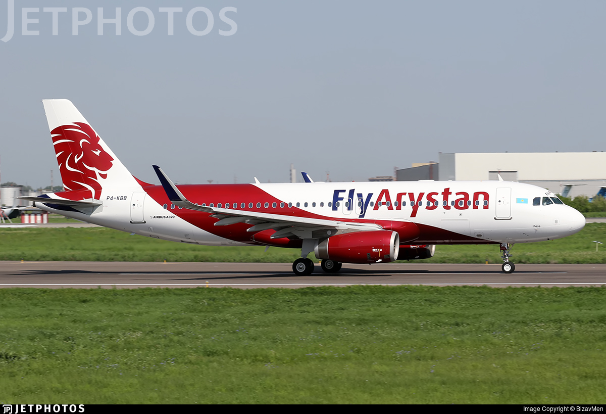 P4-KBB - Airbus A320-232 - Fly Arystan