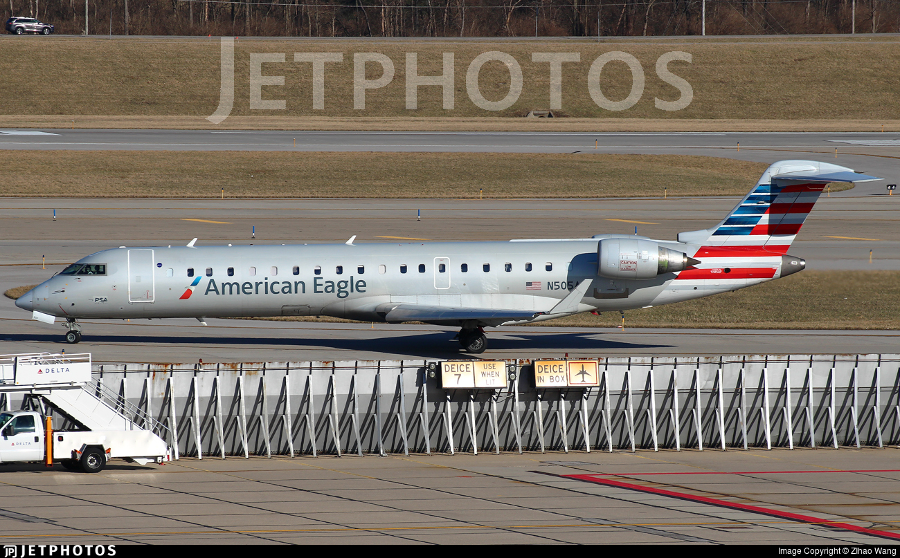 N505AE - Bombardier CRJ-701ER - American Eagle (Envoy Air)