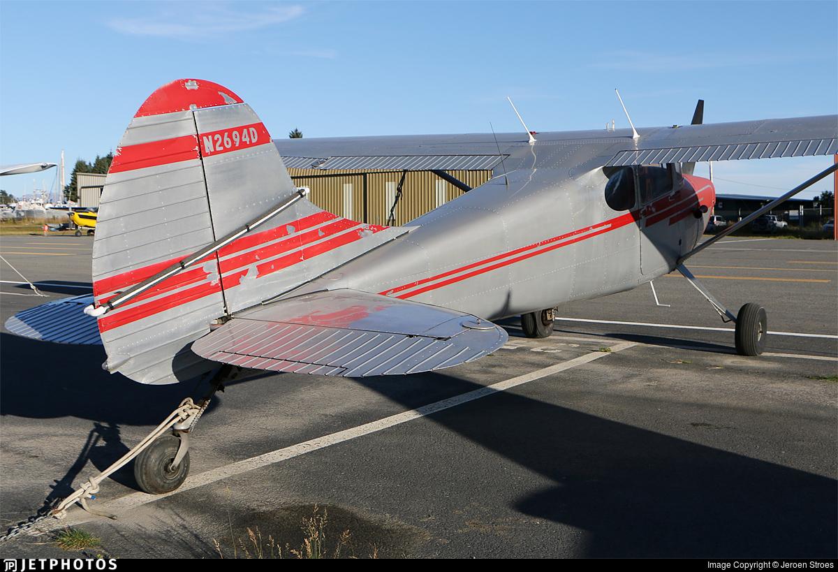 N2694D - Cessna 170B - Private