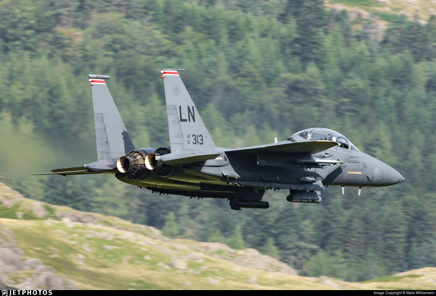 91-0313 - McDonnell Douglas F-15E Strike Eagle - United States - US Air Force (USAF)