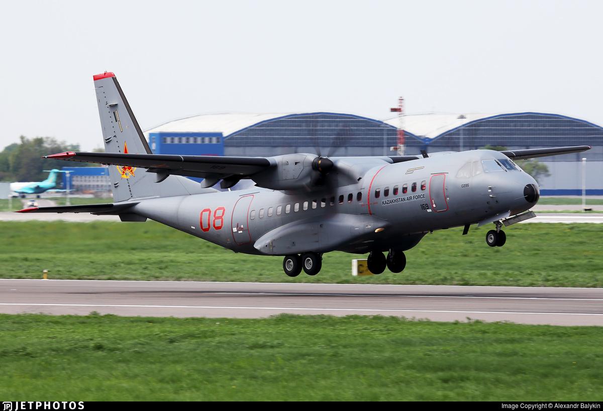08 - CASA C-295M - Kazakhstan - Air Force