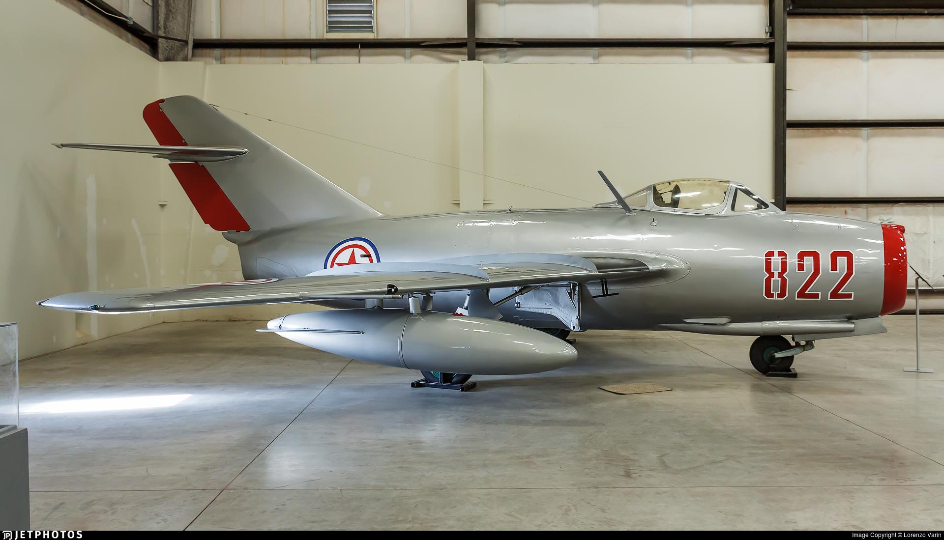 822 - Mikoyan-Gurevich MiG-15bis Fagot - North Korea - Air Force
