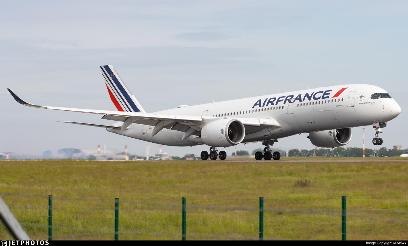 F-HTYE - Airbus A350-941 - Air France