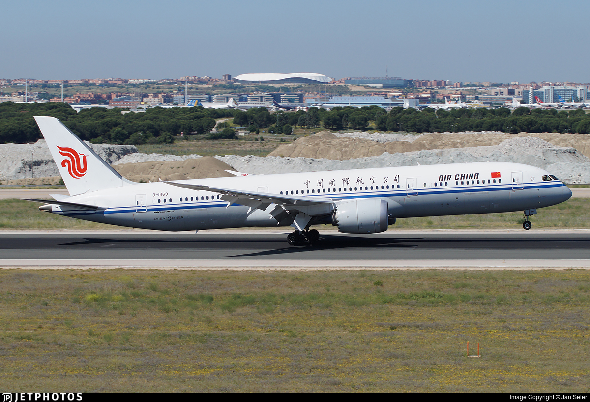 B-1469 - Boeing 787-9 Dreamliner - Air China