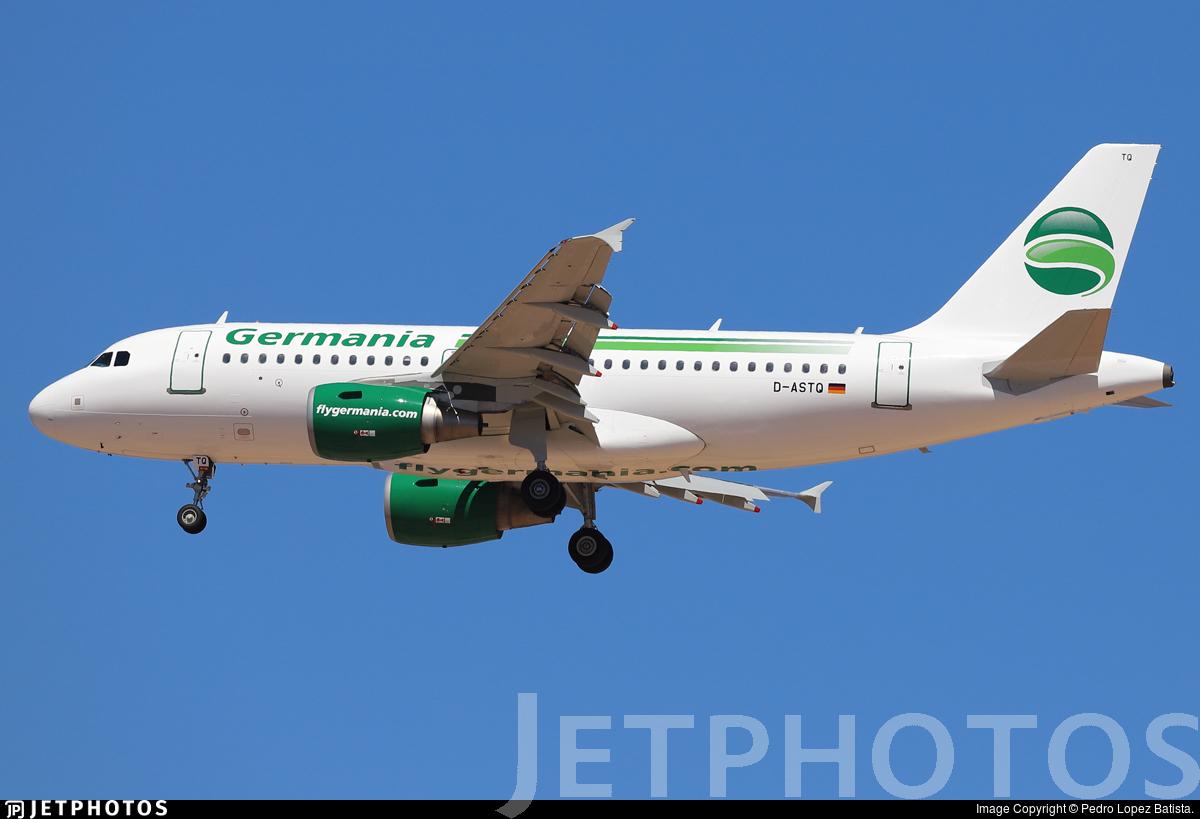 D-ASTQ - Airbus A319-111 - Germania