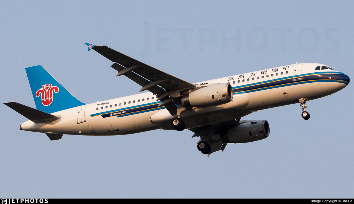 B-9958 - Airbus A320-232 - China Southern Airlines