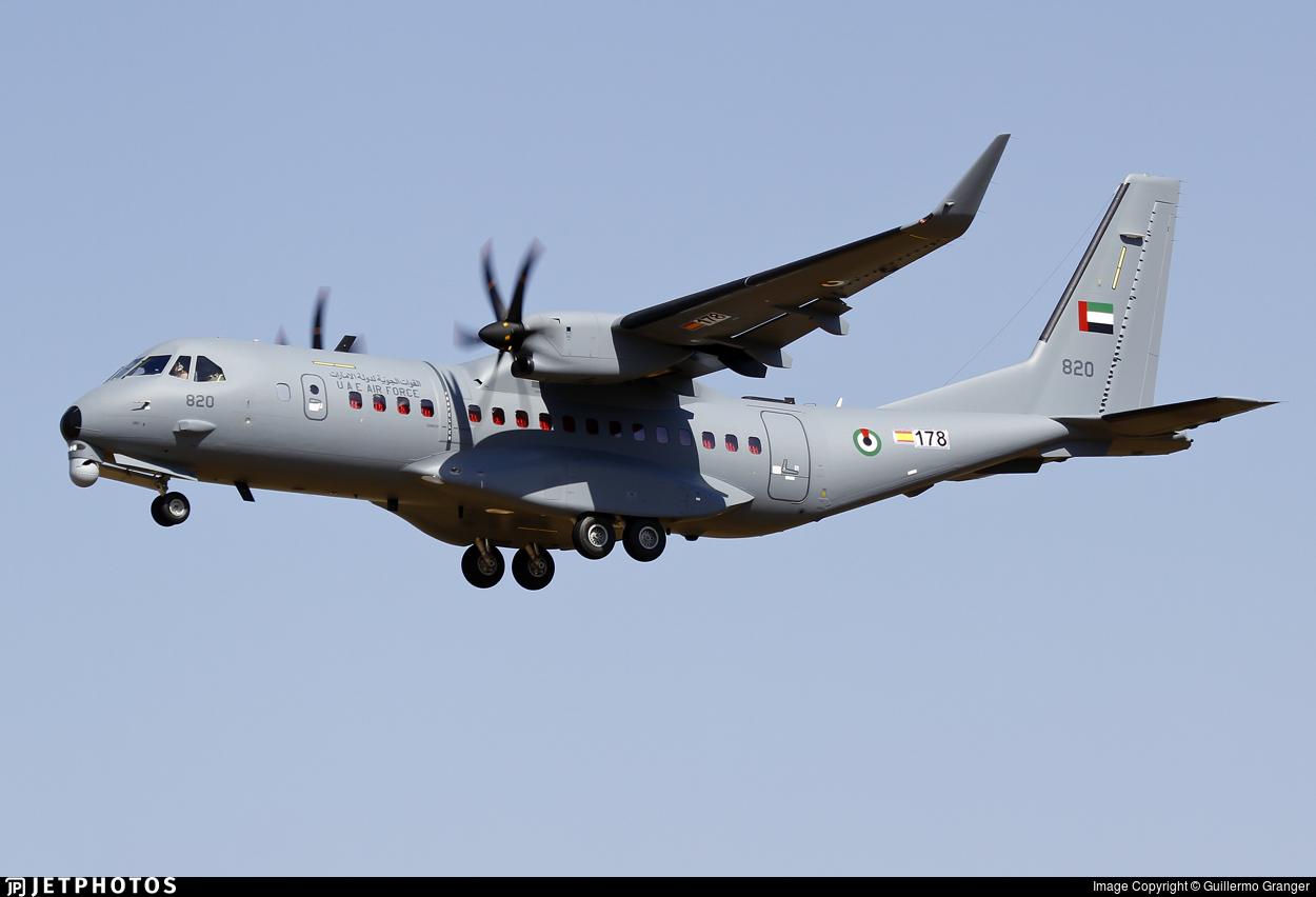 178 - Airbus C295W - United Arab Emirates - Air Force