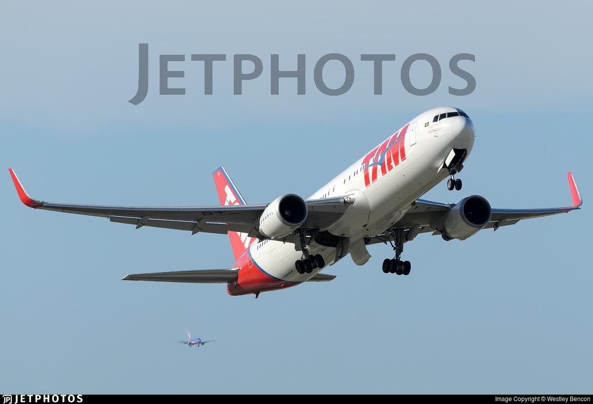 PT-MSY - Boeing 767-316(ER) - TAM Linhas Aéreas