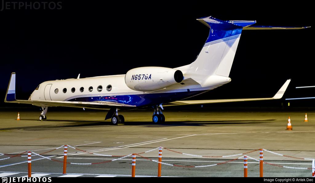 N857GA - Gulfstream G550 - Private