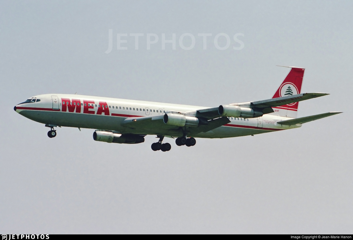 OD-AHF - Boeing 707-323B - Middle East Airlines (MEA)
