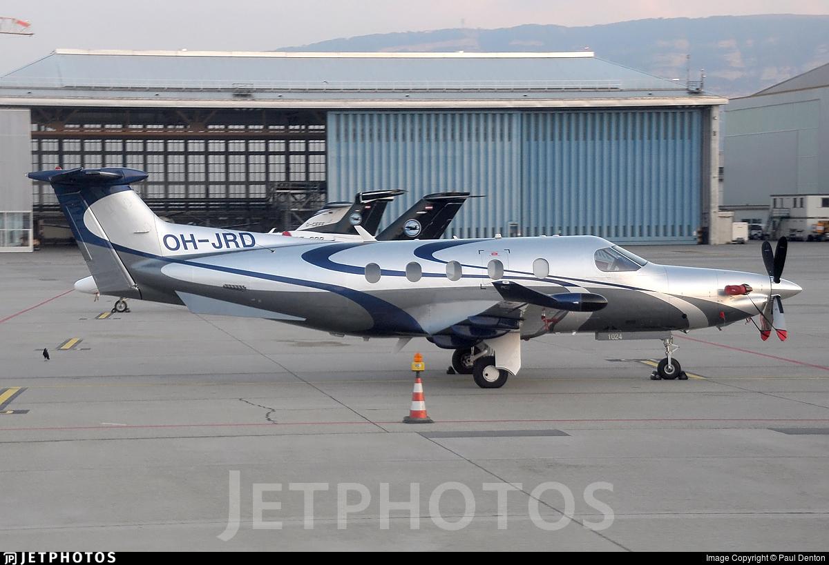OH-JRD - Pilatus PC-12/47E - Fly 7 Executive Aviation