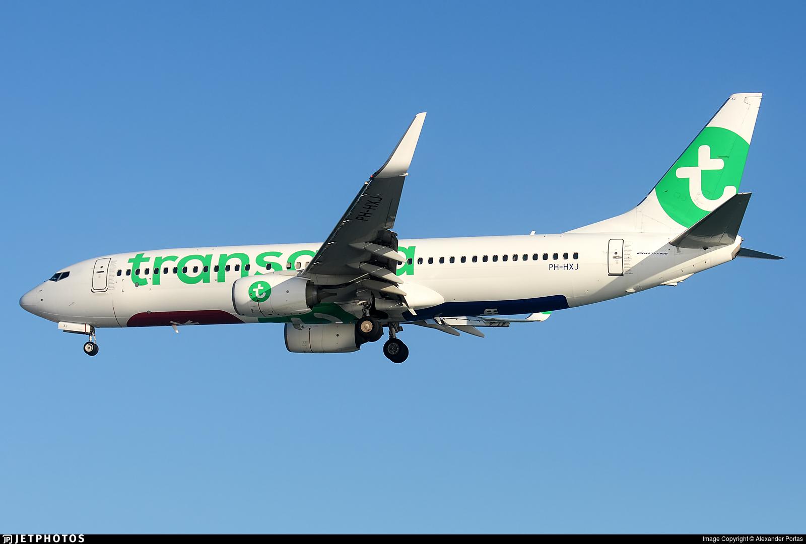 PH-HXJ - Boeing 737-8K2 - Transavia Airlines