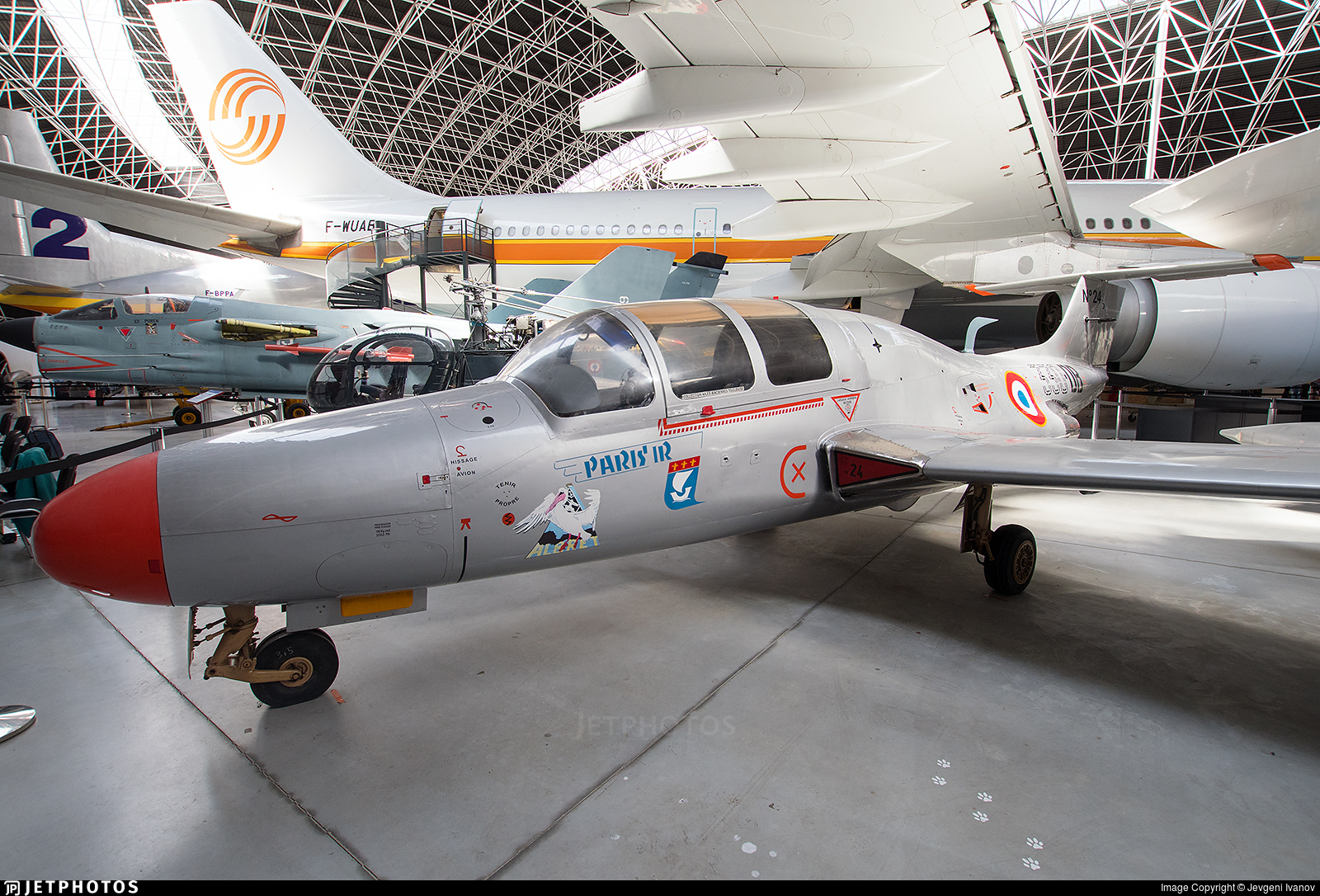 24 - Morane-Saulnier MS-760 Paris - France - Air Force