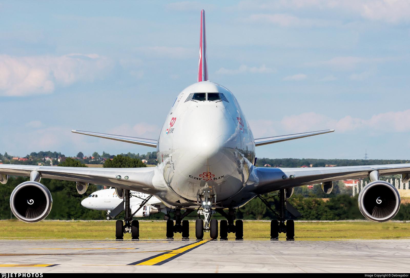 LX-MCL - Boeing 747-4HAERF - Cargolux Airlines International