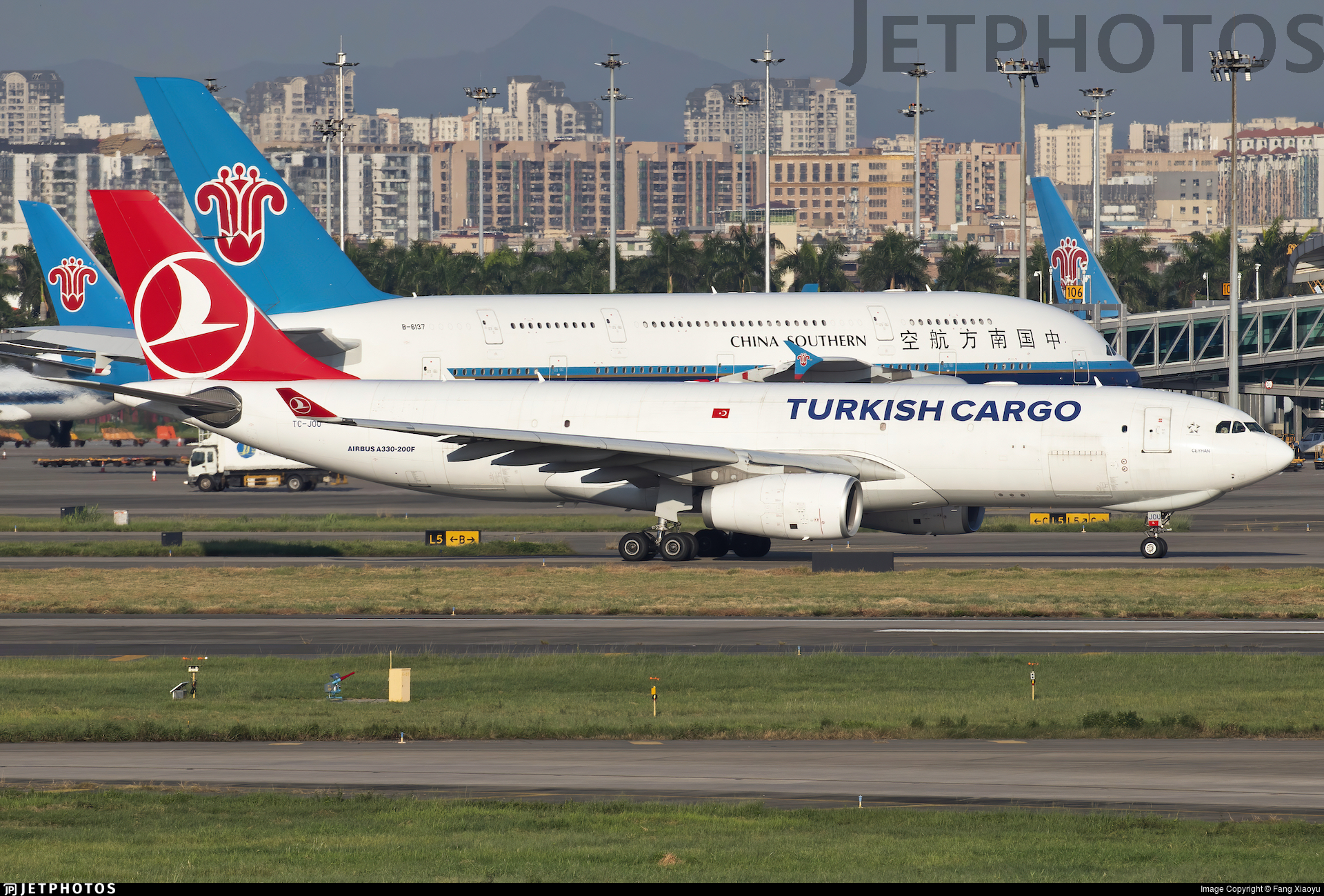 TC-JOU - Airbus A330-243F - Turkish Airlines Cargo