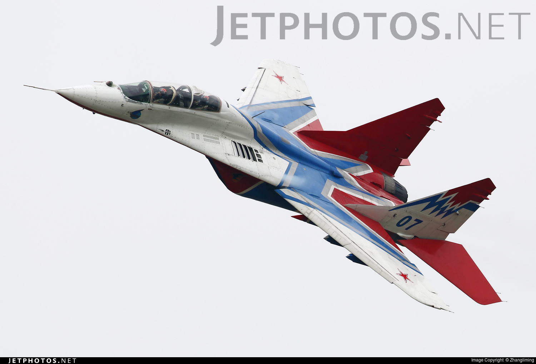 07 - Mikoyan-Gurevich MiG-29 Fulcrum - Russia - Air Force