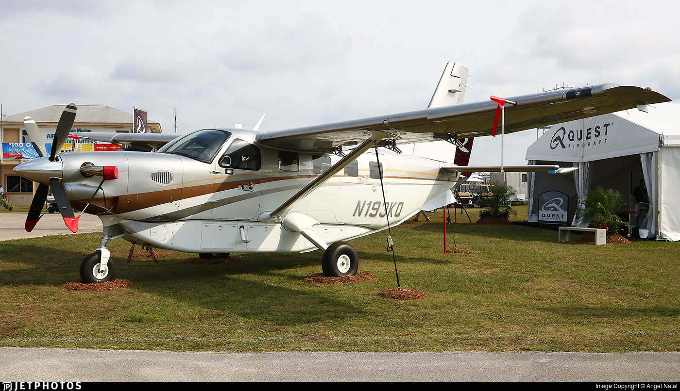 N193KQ - Quest Aircraft Kodiak 100 - Quest Aircraft Company