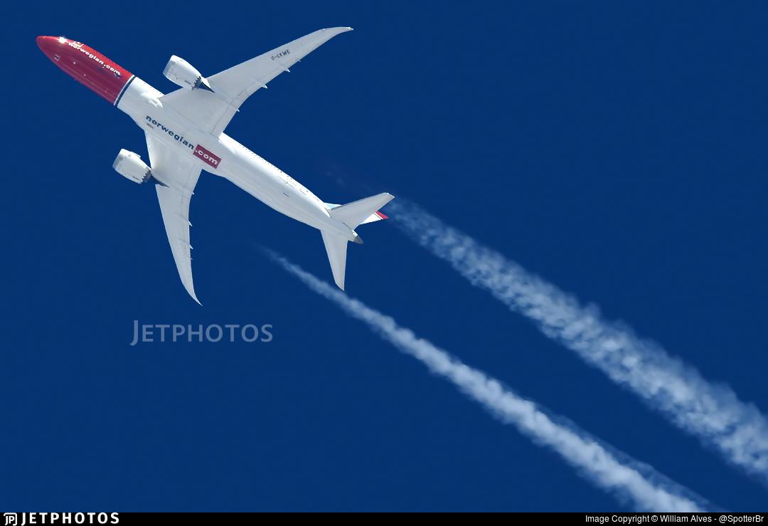 G-CKWE - Boeing 787-9 Dreamliner - Norwegian