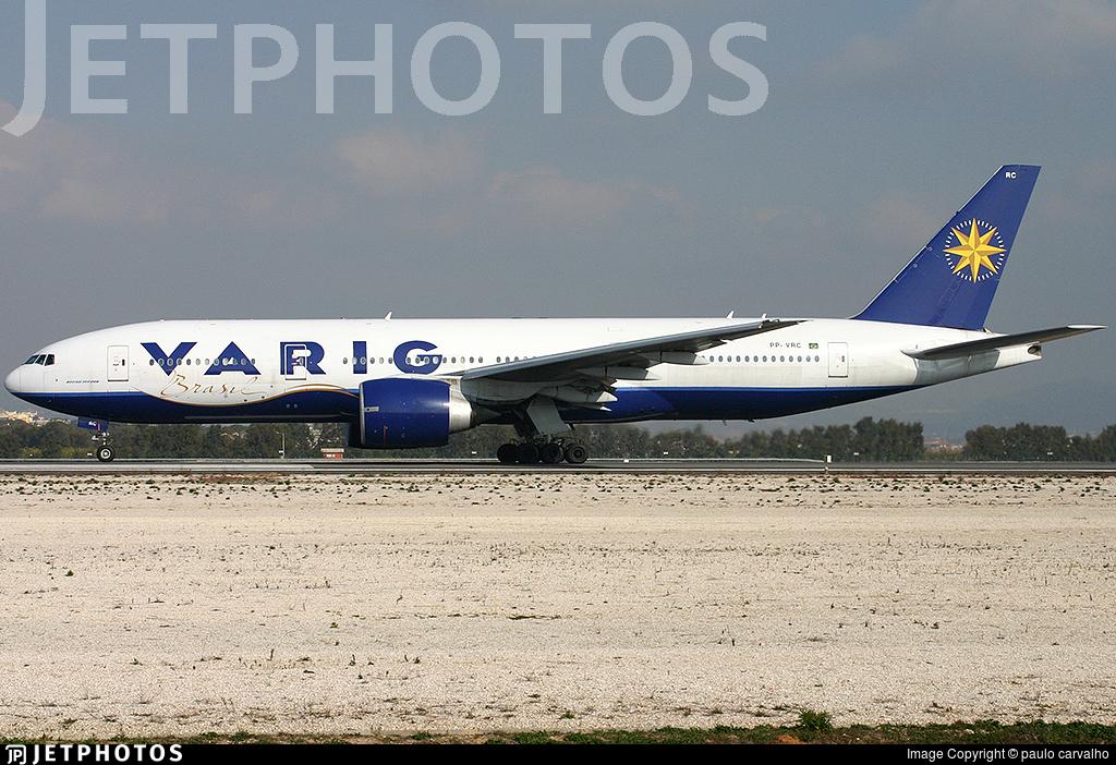 PP-VRC - Boeing 777-236 - Varig