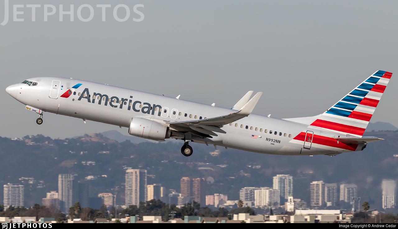 N992NN - Boeing 737-823 - American Airlines