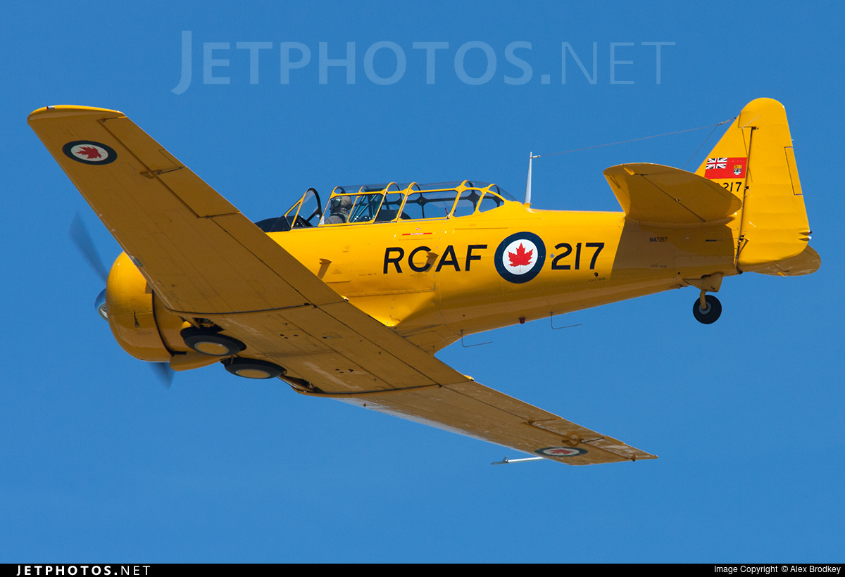 N47217 - North American T-6G Harvard 4 - Private