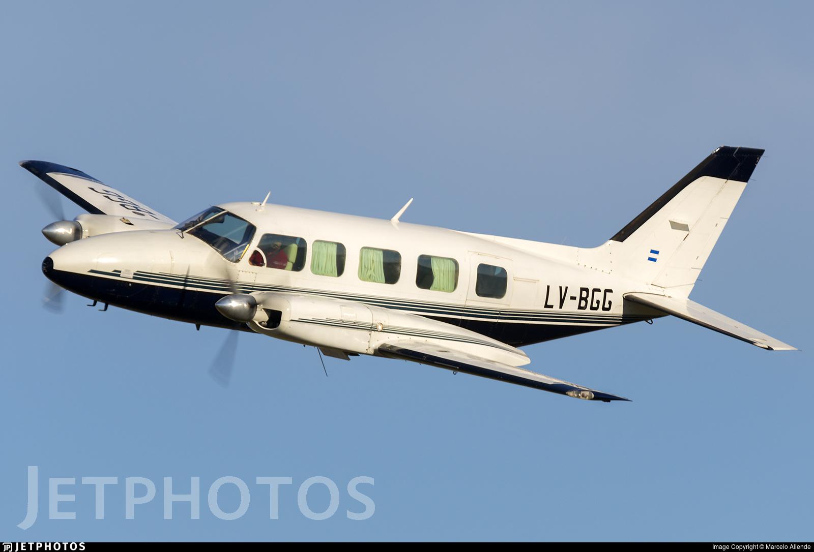 LV-BGG - Piper PA-31-350 Chieftain - Private
