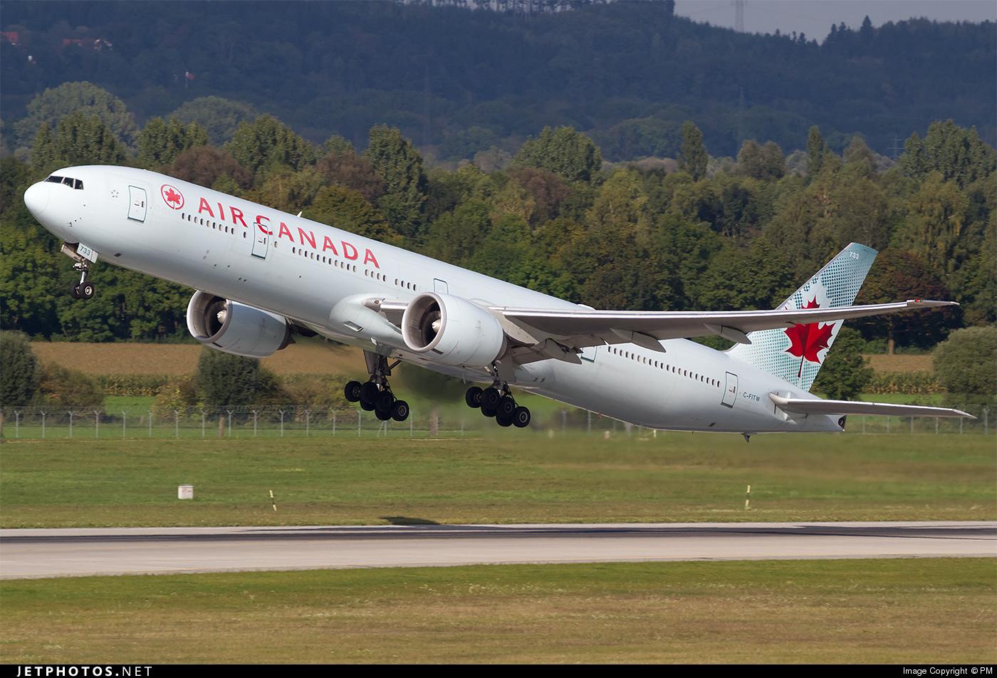 C-FITW - Boeing 777-333ER - Air Canada