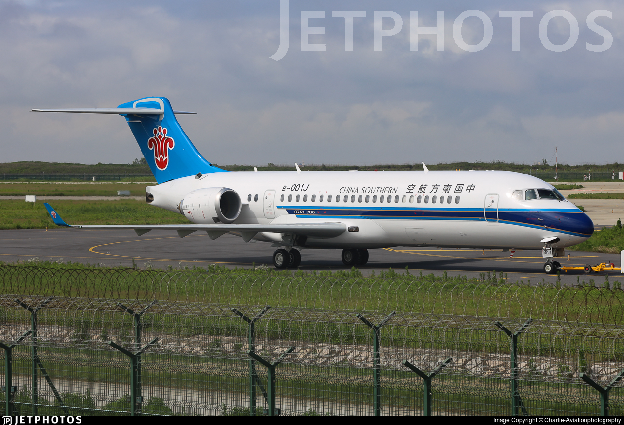 B-001J - COMAC ARJ21-700 - China Southern Airlines