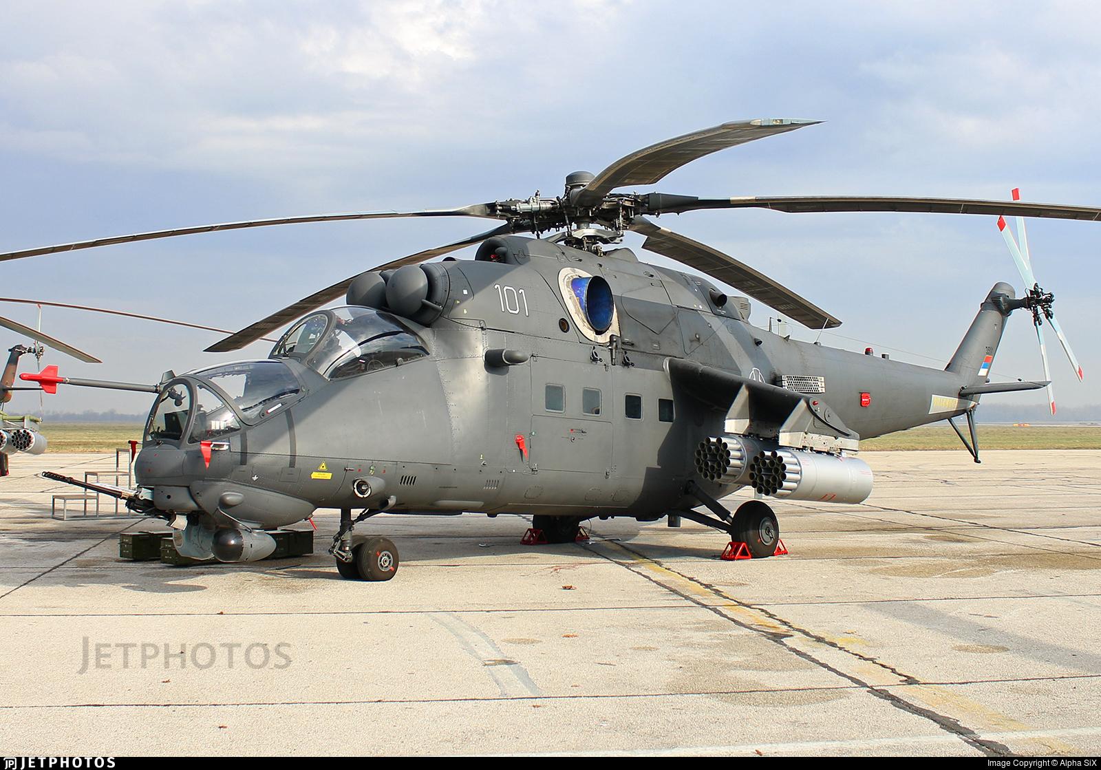 35101 - Mil Mi-35M Hind - Serbia - Air Force