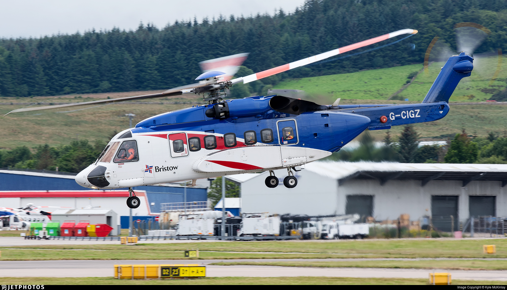 G-CIGZ - Sikorsky S-92A Helibus - Bristow Helicopters