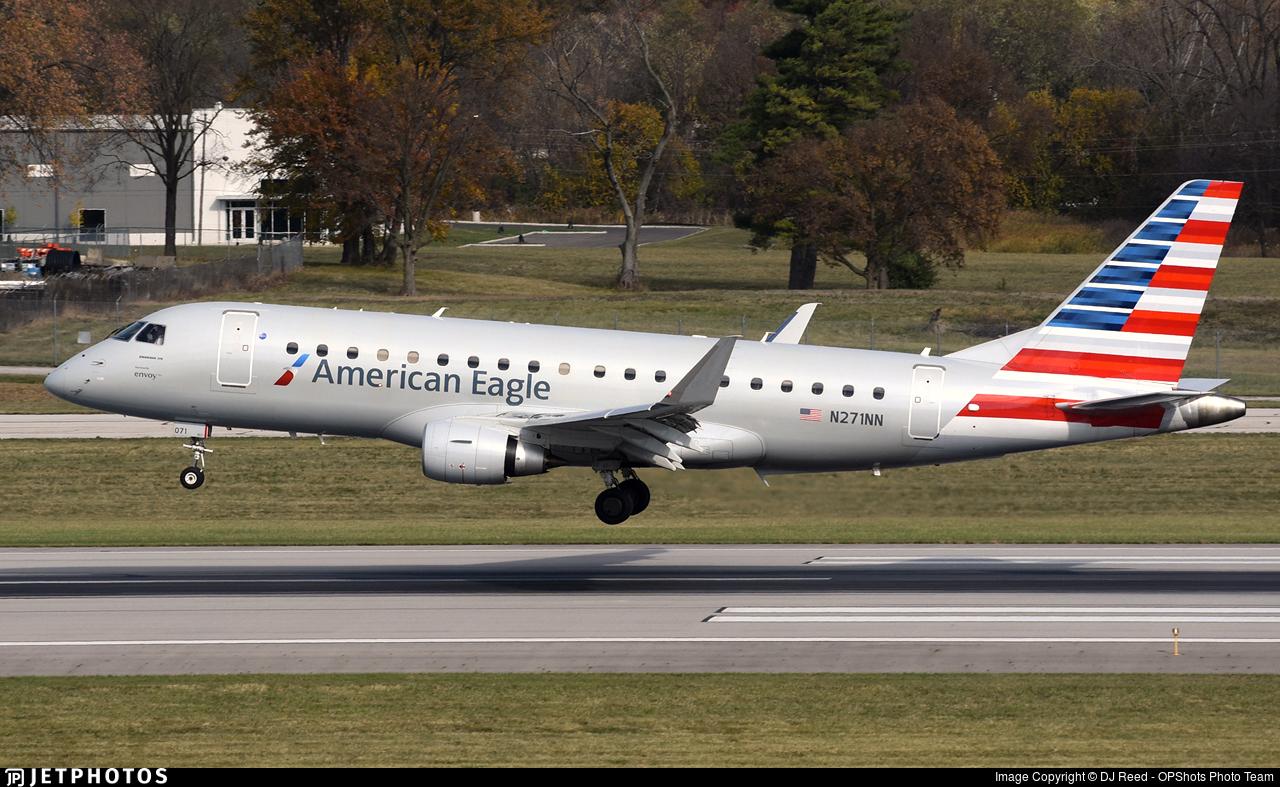 N271NN - Embraer 170-200LR - American Eagle (Envoy Air)