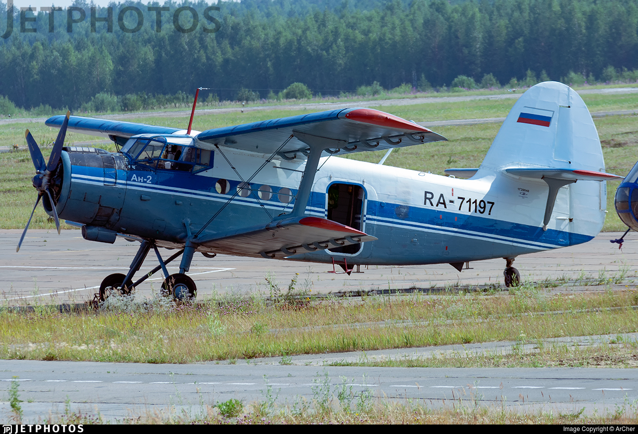 RA-71197 - PZL-Mielec An-2R - Sibia