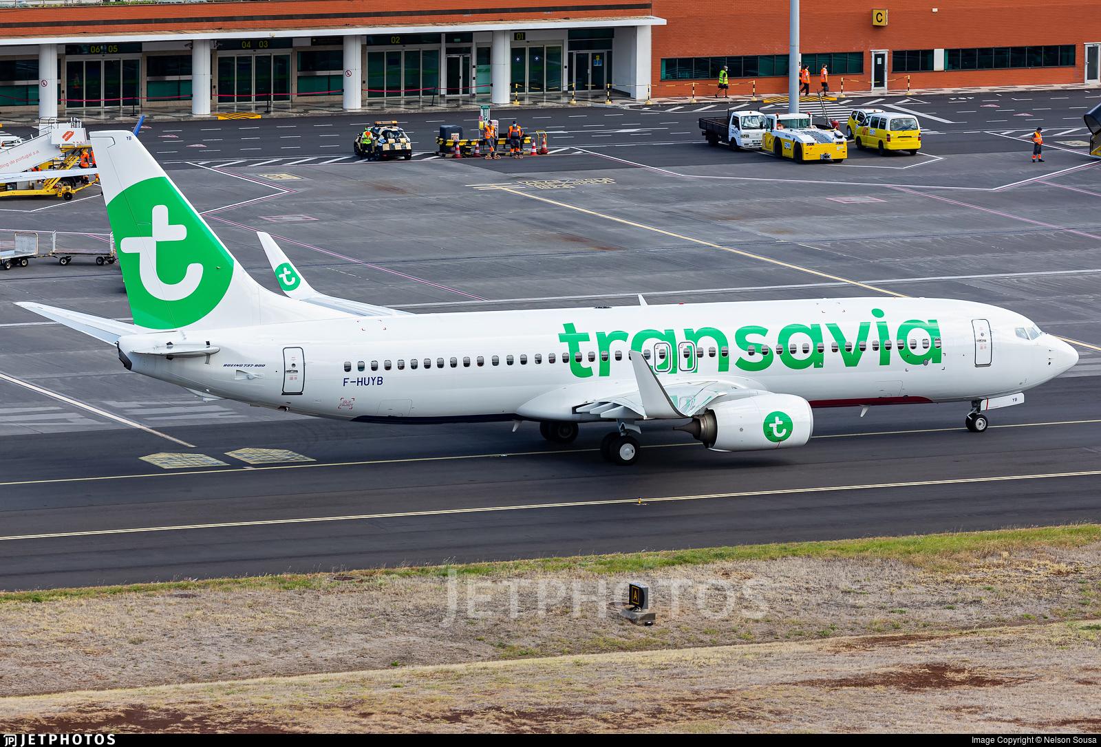 F-HUYB - Boeing 737-8JP - Transavia France