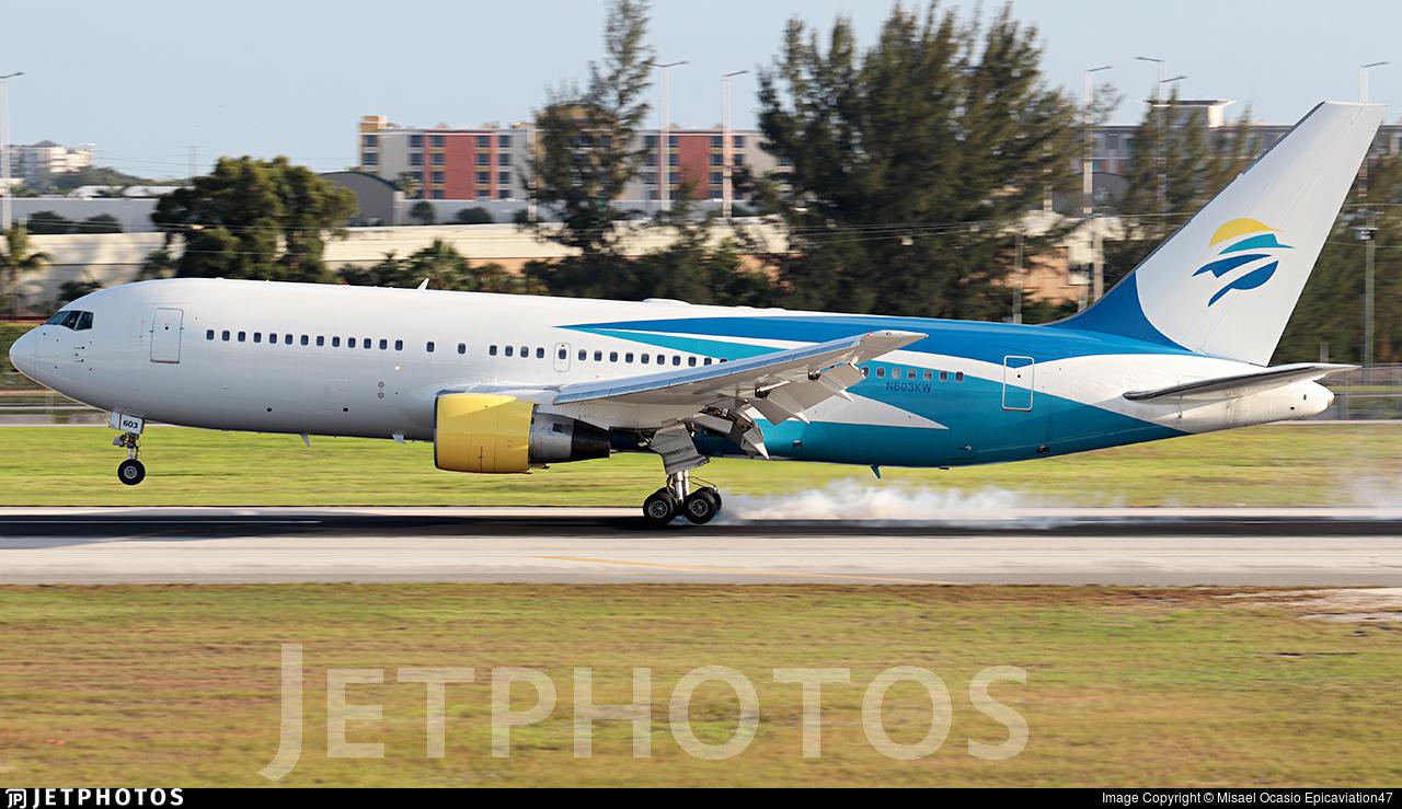 N603KW - Boeing 767-246 - Swift Air